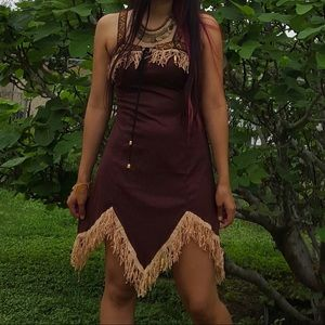 California Costumes Dresses - 🌵Fringe indie princess dress🌵